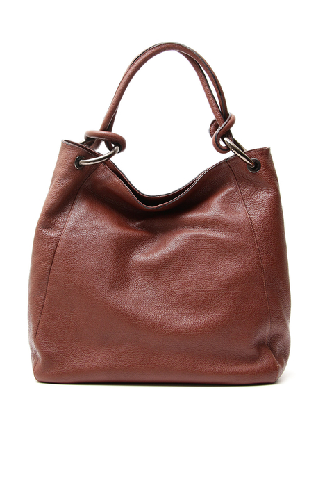 Leather shopper bag Diffusione Tessile