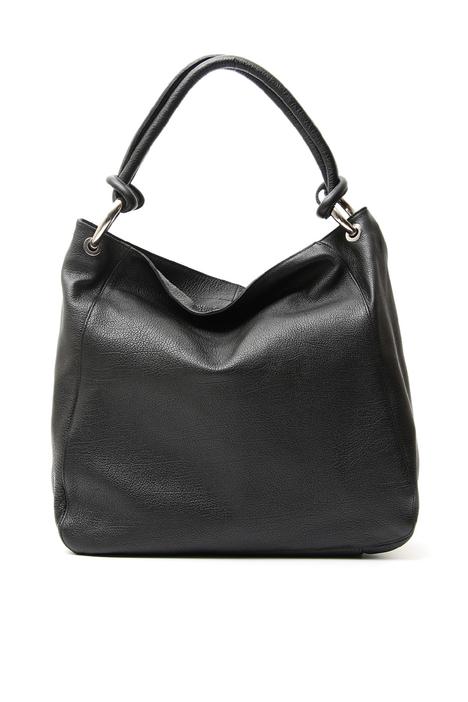 Leather shopper bag Diffusione Tessile