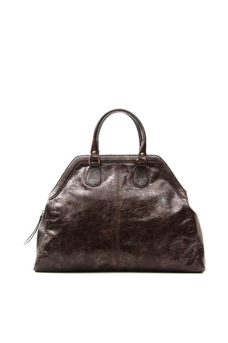Aged-effect bag Diffusione Tessile