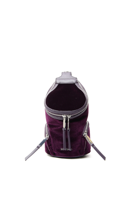 Smooth velvet backpack Diffusione Tessile