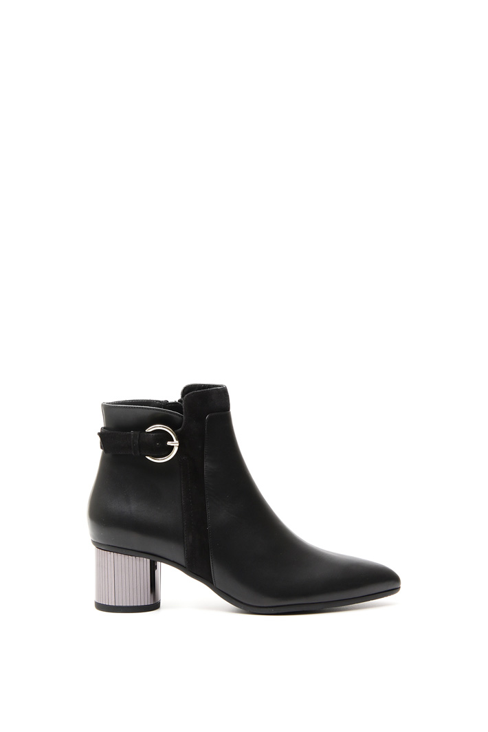 Smooth leather ankle-boots Diffusione Tessile