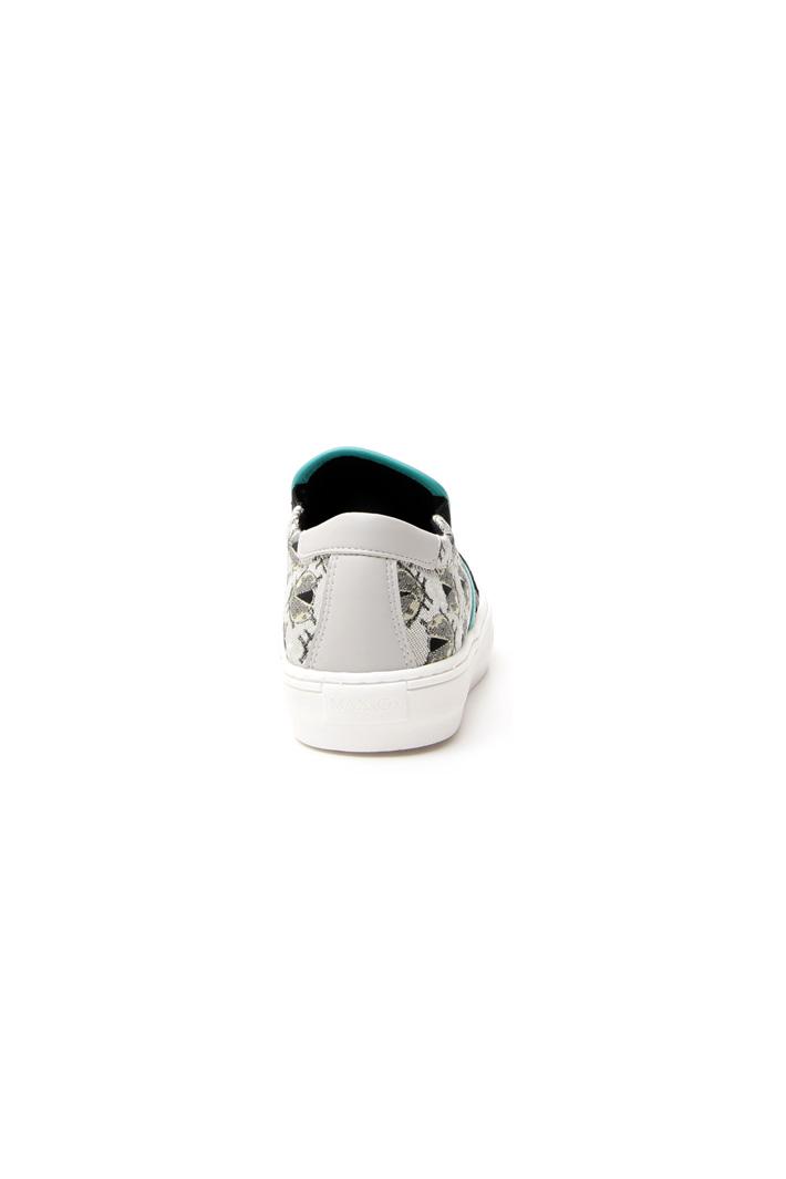 Sneakers in jacquard lamé Diffusione Tessile