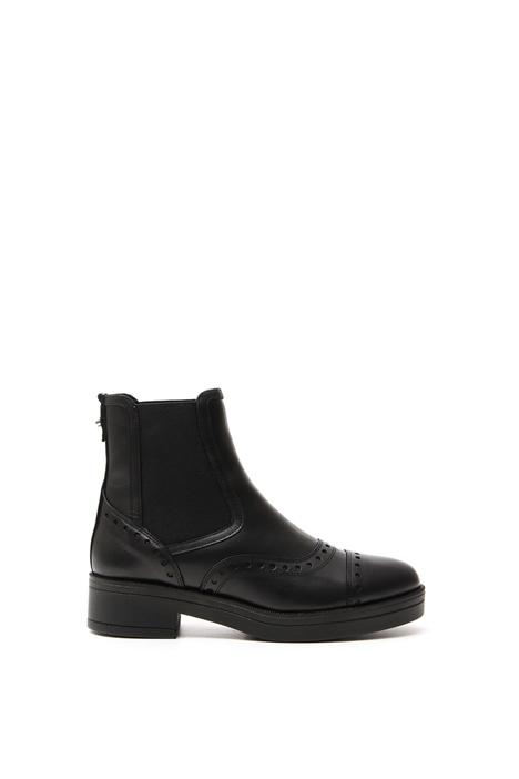 Leather Chelsea boots Diffusione Tessile