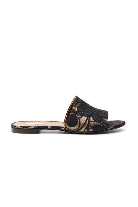 Jacquard flat sandals Intrend