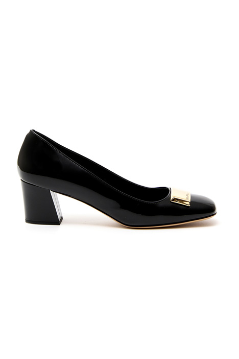 Patent leather ballerinas Intrend