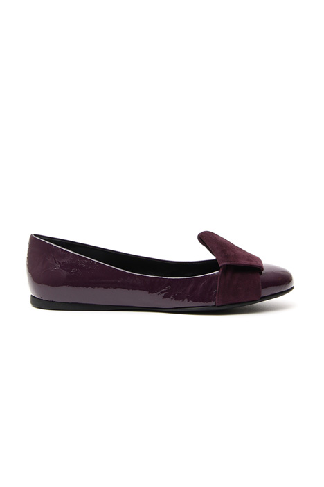 Patent leather ballerinas Diffusione Tessile