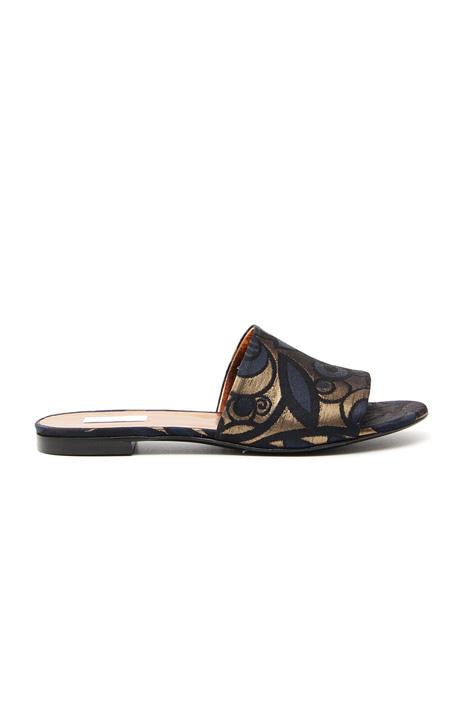 Flat fabric sandals Diffusione Tessile
