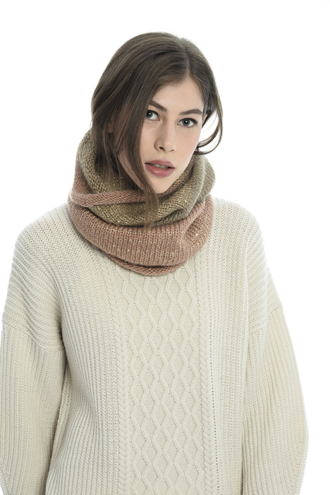 Knitted circle scarf Intrend