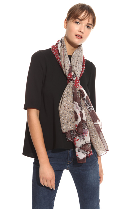 Multi-patterned scarf Diffusione Tessile