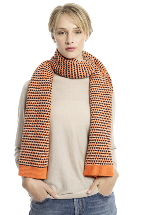 Jacquard knitted scarf Intrend