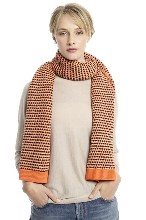 Sciarpa in maglia jacquard Diffusione Tessile