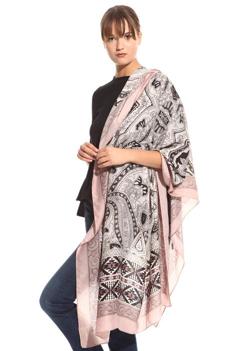 Macro pattern scarf Diffusione Tessile