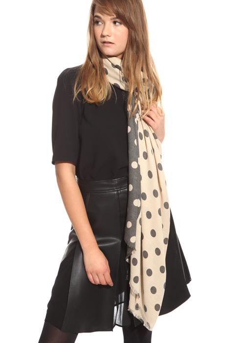 Viscose blend scarf Diffusione Tessile