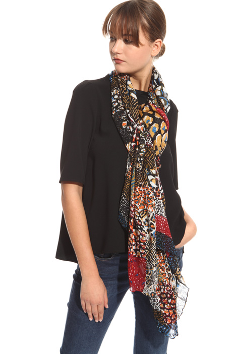 Camouflage scarf Intrend