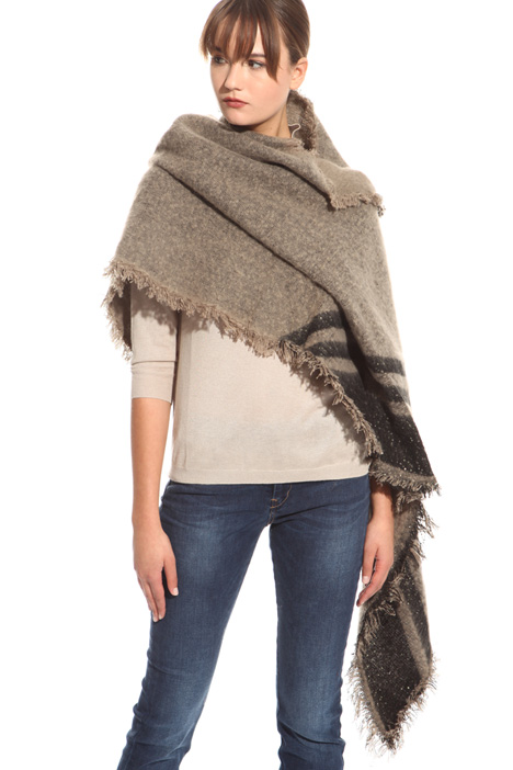 Soft scarf with sequins Diffusione Tessile
