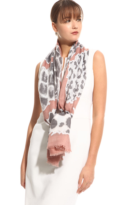 Fantasy print scarf Diffusione Tessile