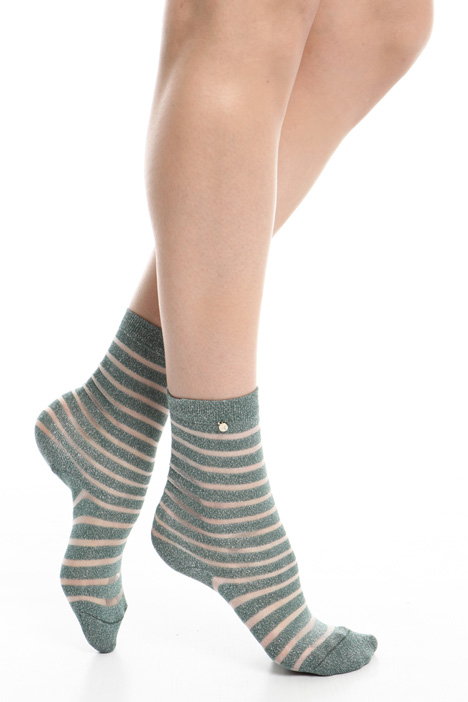 Socks in lamé yarn Intrend