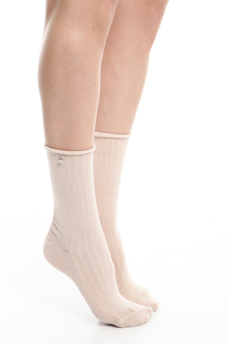 Lurex cotton socks Diffusione Tessile