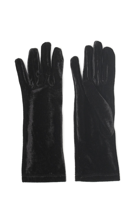 Velvet gloves Intrend