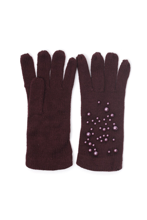 Gloves with boule details Intrend