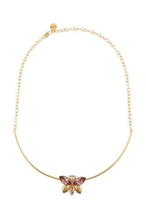 Collar necklace with crystals Intrend
