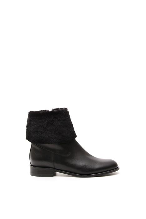 Leather boots Diffusione Tessile