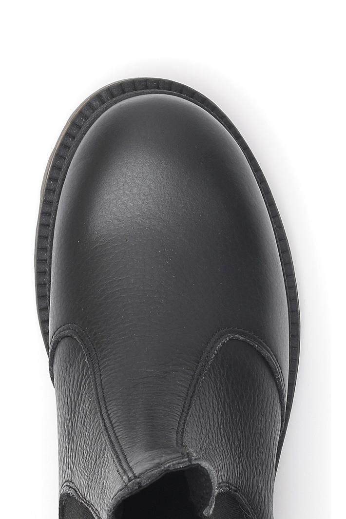 Stivali in pelle bottalata Diffusione Tessile