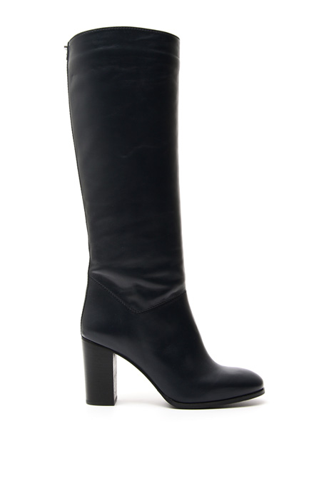 Smooth leather boots Diffusione Tessile