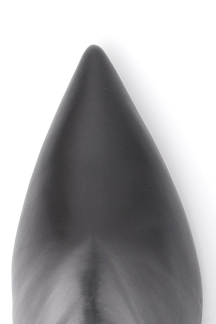 Tronchetto con punta sfilata Diffusione Tessile