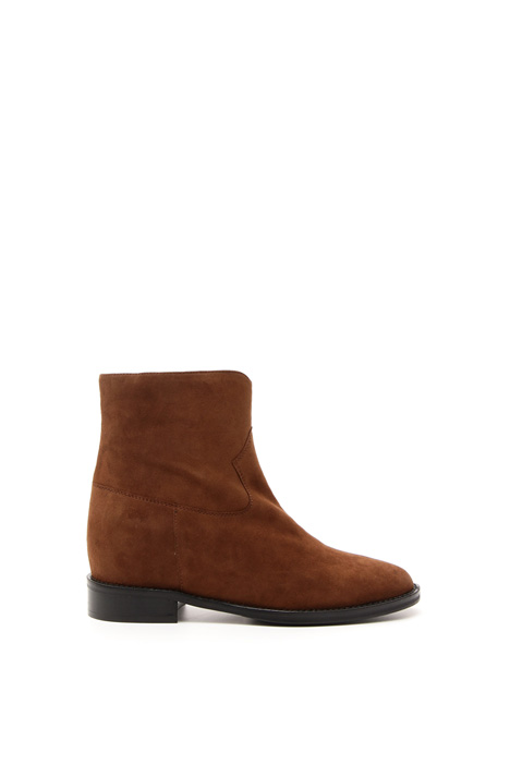 Suede ankle-boots Diffusione Tessile