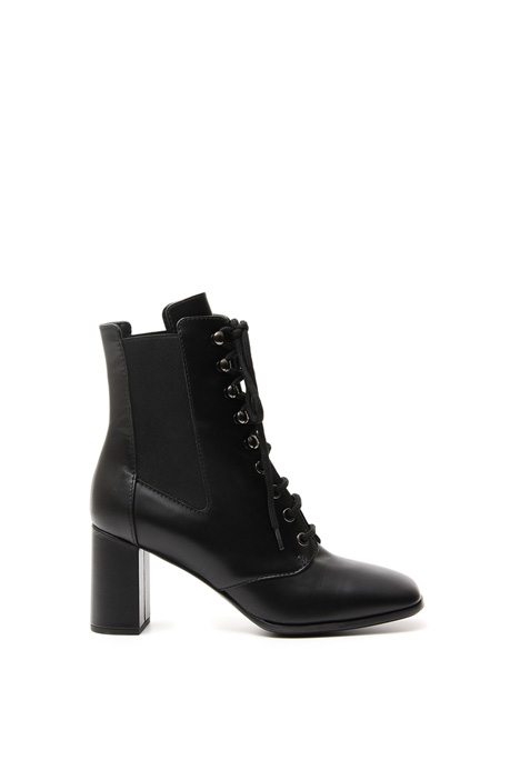 Lace-up leather ankle-boots Diffusione Tessile