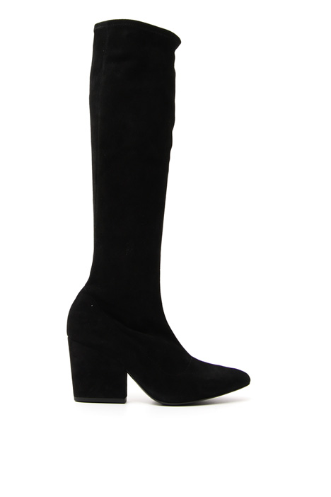 Stretch suede boots Diffusione Tessile
