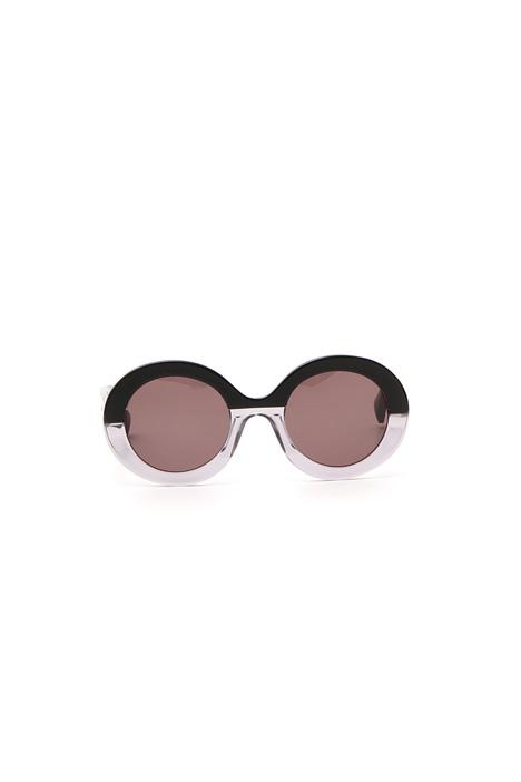 Occhiali con lenti ovali Diffusione Tessile