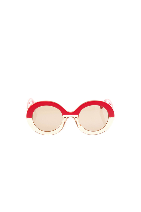 Oval sunglasses Diffusione Tessile