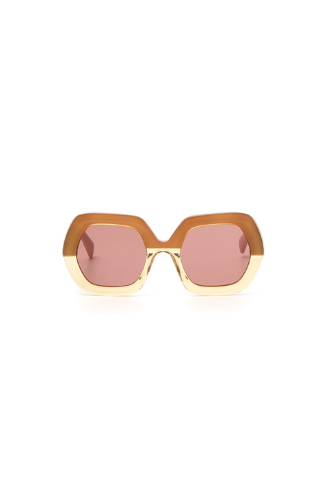 Hexagonal acetate sunglasses Intrend