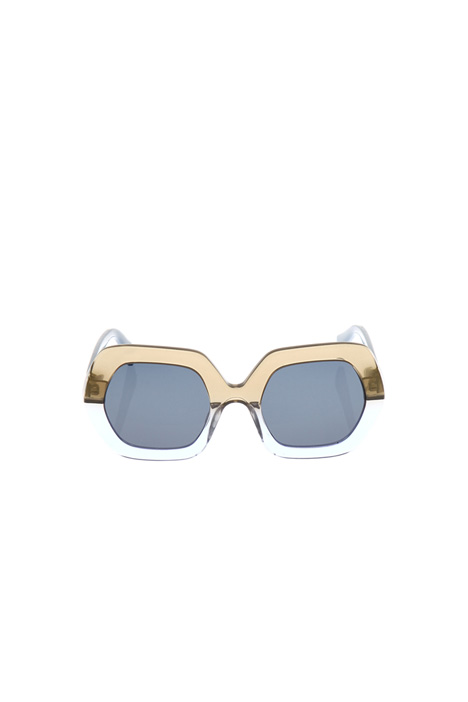 Hexagonal acetate sunglasses Diffusione Tessile