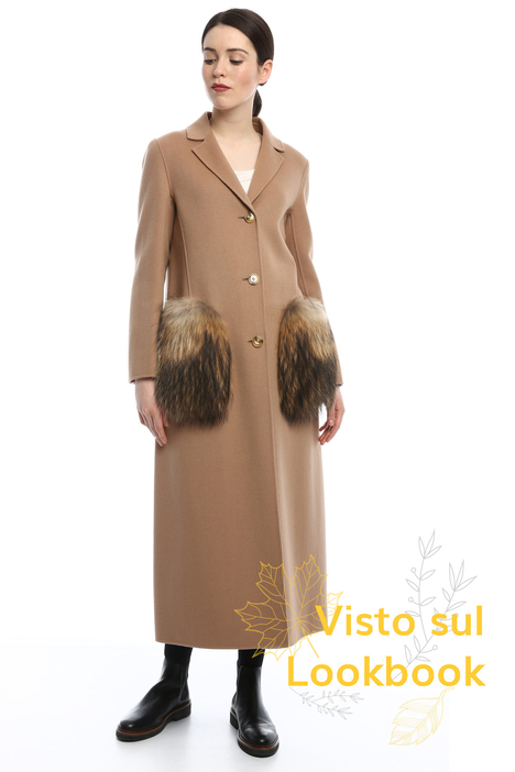 Fur coat Intrend