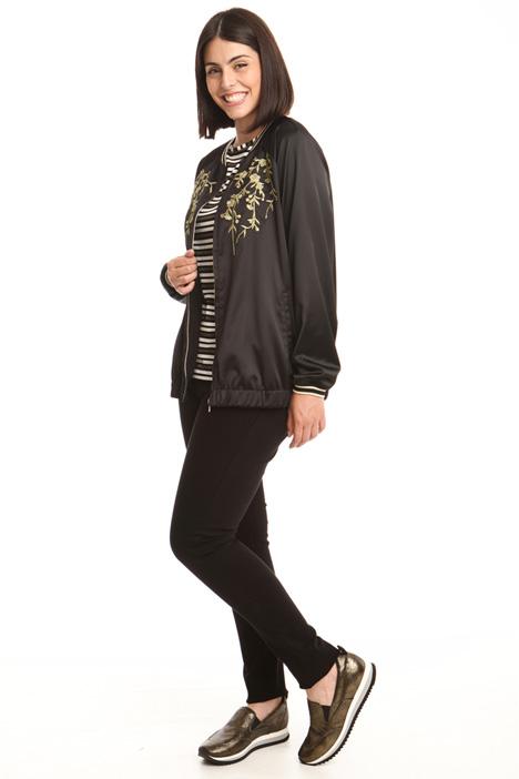 Satin bomber jacket Diffusione Tessile