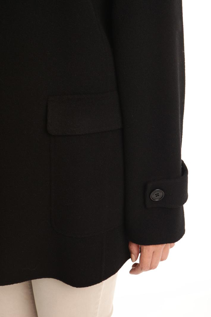 Capospalla in double di lana Diffusione Tessile