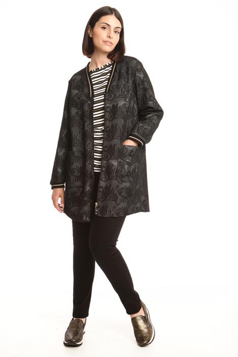 Lace-effect jacket Diffusione Tessile
