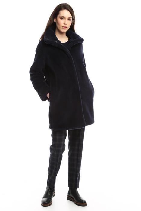 Fur-effect coat Diffusione Tessile