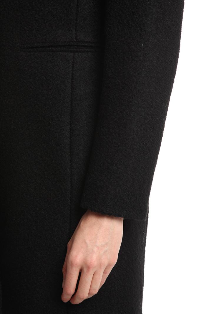 Cappotto in jersey bouclé Diffusione Tessile