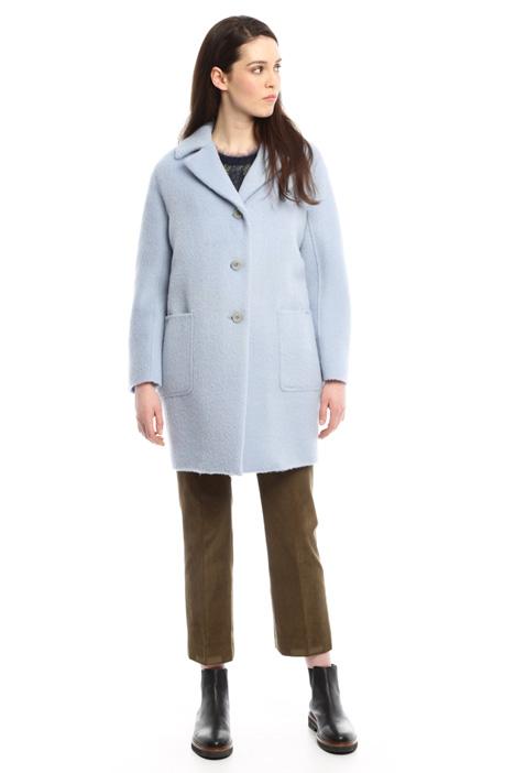 Wool and alpaca coat Diffusione Tessile