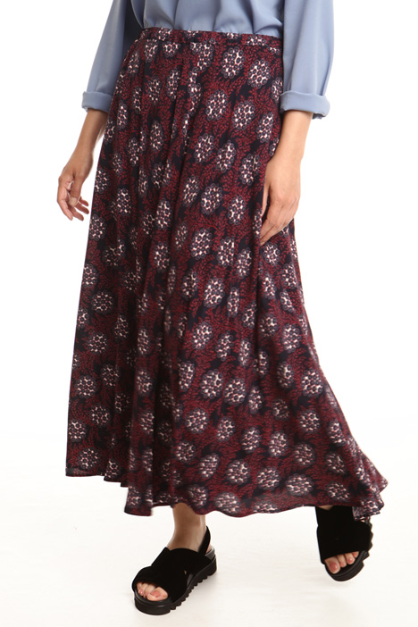 Long printed skirt Diffusione Tessile