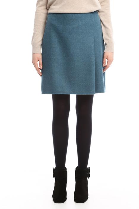 A-line drap skirt Diffusione Tessile