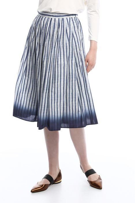 Poplin skirt with pockets Diffusione Tessile