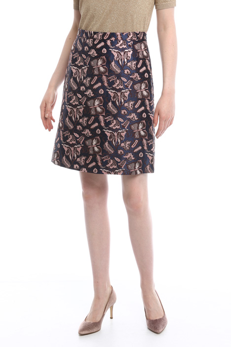 Lurex jacquard skirt Intrend