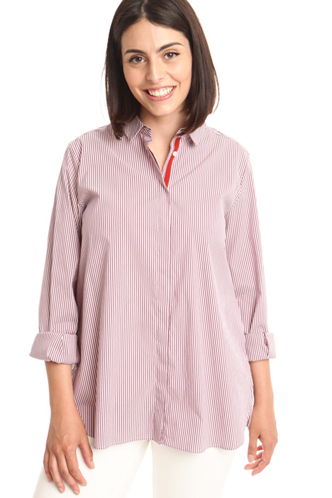 Cotton blend shirt Diffusione Tessile