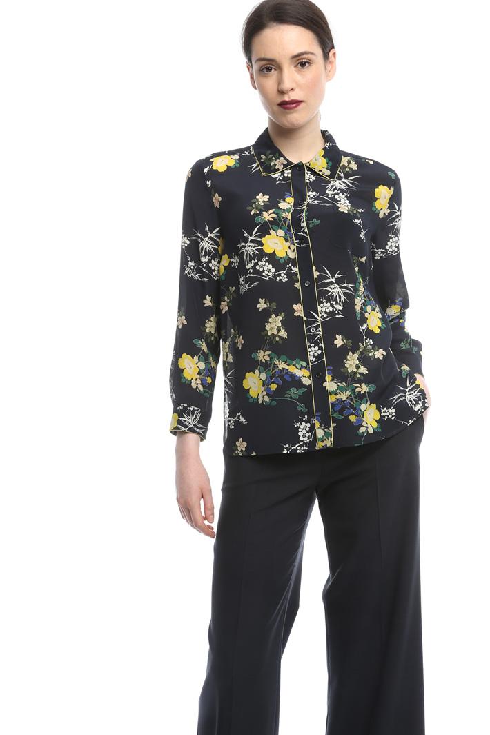 Camicia in crepe di seta Diffusione Tessile