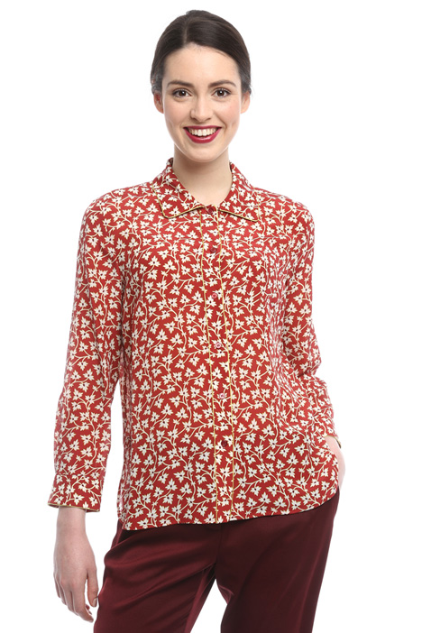 Silk crepe shirt Diffusione Tessile